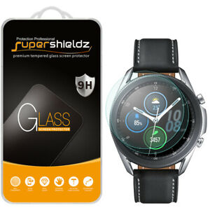 2X Supershieldz Tempered Glass Screen Protector for Samsung Galaxy Watch 3 45mm