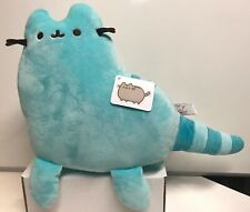 "Gund Stuffed Pusheen Cat 9"" Pusheen Blue Dino , New With Tag"