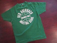 RARE vintage single stitch Red Auerbach New Balance Basketball T shirt Medium
