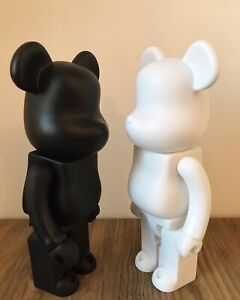 Bearbrick Action Figure Ornament Toy Collection 28CM (BLACK&WHITE)