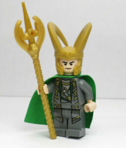 LEGO Marvel Loki Minifigure - NEW