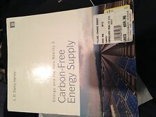 Carbon-Free Energy Supply by L. D. Danny Harvey (2010, Paperback)