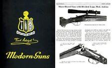 Fred Adolph Modern Guns c1914, Genoa, New York