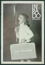 INTRADO REVUE AIR FRANCE 1970 N°6 - AVIATION AERONAUTIQUE - TURBULENCES LUNE…