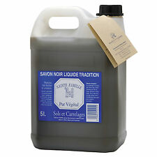 "Marius Fabre ""Lavoir"" Liquid black soap 10 L Original Made in France"