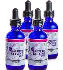 Raspberry Ketone Diet Drops 8oz Total Ounces 4-2oz Bottles Keytones Ketones