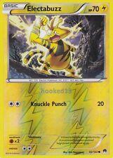 Electabuzz Common Reverse Holo BreakPoint Pokemon Card 42/122