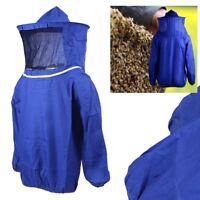 Lightweight Beekeeping Jacket Veil Bee Keeping Suit Hat Smock Protective Tool