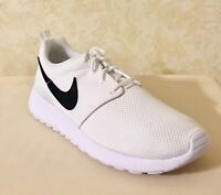 Youth Grade School Nike Roshe One Athletic shoes Sneaker Mesh White/Black 599728