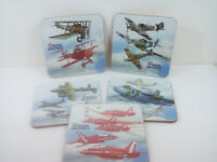 Coaster or Child's Drinks Mat , Aircraft New and Old, fun for all the family