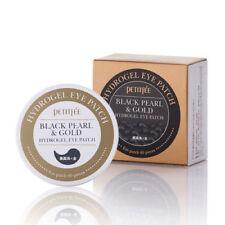 PETITFEE / Black Pearl & Gold Hydrogel Eye Patch / Free Sample / Korea Cosmetic
