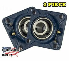 2 Pieces 1 Inch 4 Bolts Pillow Block Flange Bearingucf205 16self Alignment