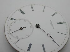 ALPHONSE MATILE LOCLE POCKET WATCH MOVEMENT AND DIAL BROKEN PALLET ARM