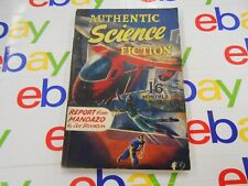 """Authentic Science Fiction #15 (1951,UK) """"Report From Mandazo"""" by Lee Stanton"""