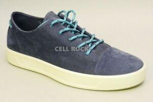 Ecco Mens Sneaker Soft 8 SUEDE Shoes Sneaker Night Sky 9-9.5 M