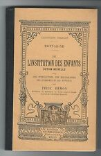"""De l'institution des enfants"" / Michel de Montaigne (1907)"