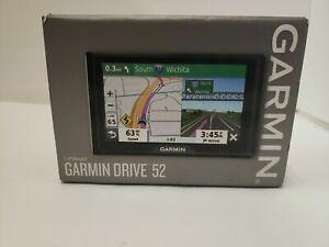 """Garmin Drive 52 5"""" GPS Navigator 010-02036-06 - BRAND NEW"""