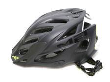 MET Terra Helmet, Black/White, One Size Fahrradhelm Radhelm