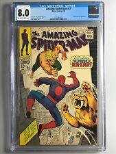 Amazing Spider-Man 57 - Ka-Zar and Zabu Appearance - 1968