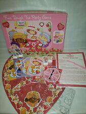 M9 Strawberry Shortcake Fun Dough Tea Party Game RoseArt 2004 play doh