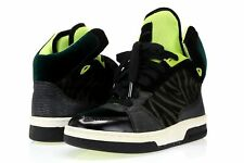 -Womens KURT GEIGER Multi-Color Leather High Top Sneakers Sz. 6.5