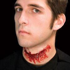 Woochie Látex horror hendidura garganta Set 3D Elaborado Vestido Maquillaje Equipo #WO019