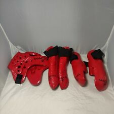 Karate Martial Arts  Equipment Set Sparring Gear Youth Macho XL Adult Small 3 PC