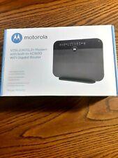 Motorola VDSL2/ADSL2+ Modem with built-in AC1600 WiFi Gigabit Router NEW