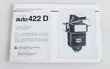 SUNPAK AUTO 422 D MANUAL