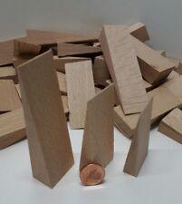36 x Holz Keile Set 3 Größen 50-80x24 mm Möbelkeile Montagekeile Buche Haushalt