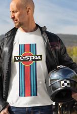 190176 Vespa Martini Scooter Jack Alpha T-Shirt