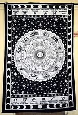 Horoscope Tapestry Indian Zodiac Astrology Wall Hanging Throw Hippie Bedspread.