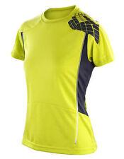 Hauts et maillots de fitness vert pour femme, taille XS