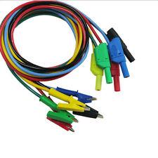 Cable de puente de prueba eléctrica 1//10X 35mm Pinzas Cocodrilo Roach pinzas de cocodrilo conduce