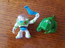 Lot of 2 TOY STORY Mini Figures: Buzz & Rex, Disney Pixar