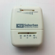 Suburban 161154 Wall Thermostat - Heat Only (White)