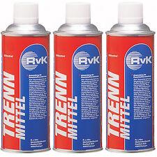 3 Trennmittel,Schweißschutzspray,Formentrennspray,Schweißtrenn-Spray,silikonfrei