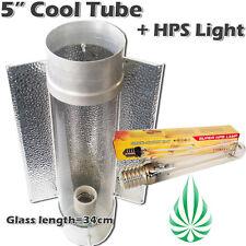 "5""/125mm Hydroponics Cool Tube Reflector 50CM Length And 250W HPS Grow Light"
