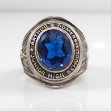 Vintage Sterling Silver 1970 Arthur S Somers School Class Ring Size 8 LFB4