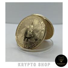 Bitcoin Gold Krypto BTC Münze Geschenk NEU