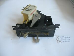 1973-74 PLYMOUTH/GTX/DODGE/CHARGER/RR. HEATER A/C CONTROLS 3502400