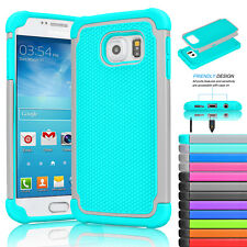 For Samsung Galaxy S7/S7 Edge Phone Case Shockproof Rubber Silicone Hybrid Cover