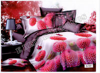 3D Effect Bedding Complete Set(S107)With Duvet Cover,Pillow Cases & Fitted Sheet