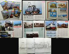 TUTTO TRENO 6 numeri del 1993 _ FERROVIE _ FERMODELLISMO _Gr. E 636 _ locomotive