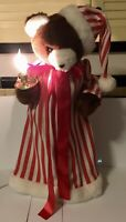 Vtg Telco MOTIONette Animated Illuminated Electric Christmas Bear With Box