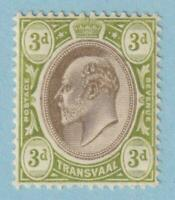 TRANSVAAL 272  MINT NEVER HINGED OG ** NO FAULTS EXTRA FINE!