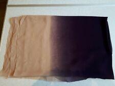 Peach & Aubergine 'Chiffon Like' Fabric - 3m Length x 1.16m Width - (94)