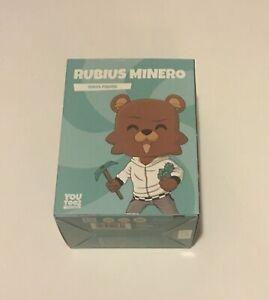 Rubius Minero #121 Youtooz Vinyl Gamer Oso Colored Edition IN HAND UNOPENED