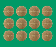 12 Cork Foosballs - Natural-Colored Cork Table Soccer Balls