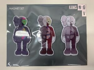 KAWS MAGNET SET OF 3 FLAYED KAWS NGV EXCLUSIVE *NEW & SEALED*